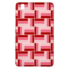 Pink Red Burgundy Pattern Stripes Samsung Galaxy Tab Pro 8 4 Hardshell Case