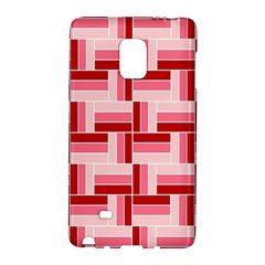 Pink Red Burgundy Pattern Stripes Galaxy Note Edge
