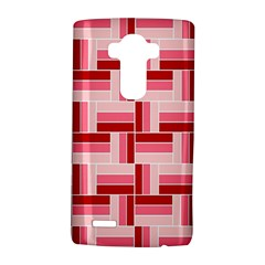 Pink Red Burgundy Pattern Stripes Lg G4 Hardshell Case
