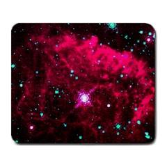 Pistol Star And Nebula Large Mousepads