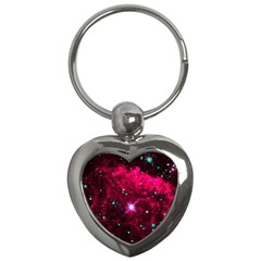 Pistol Star And Nebula Key Chains (heart)