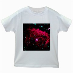 Pistol Star And Nebula Kids White T-Shirts