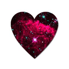 Pistol Star And Nebula Heart Magnet