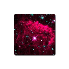 Pistol Star And Nebula Square Magnet