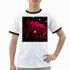 Pistol Star And Nebula Ringer T Shirts
