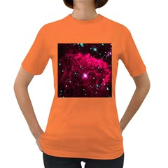 Pistol Star And Nebula Women s Dark T Shirt