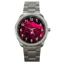 Pistol Star And Nebula Sport Metal Watch