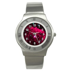 Pistol Star And Nebula Stainless Steel Watch