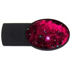 Pistol Star And Nebula Usb Flash Drive Oval (4 Gb)