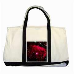 Pistol Star And Nebula Two Tone Tote Bag