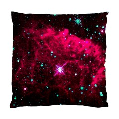 Pistol Star And Nebula Standard Cushion Case (two Sides)