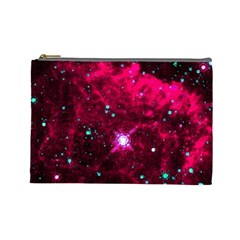 Pistol Star And Nebula Cosmetic Bag (large)