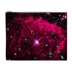 Pistol Star And Nebula Cosmetic Bag (xl)