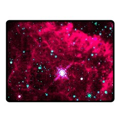 Pistol Star And Nebula Fleece Blanket (small)