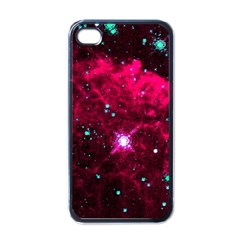 Pistol Star And Nebula Apple Iphone 4 Case (black)