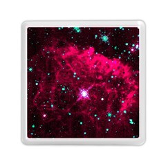 Pistol Star And Nebula Memory Card Reader (square)