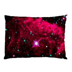 Pistol Star And Nebula Pillow Case (two Sides)