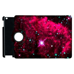 Pistol Star And Nebula Apple Ipad 2 Flip 360 Case