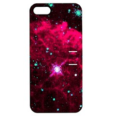 Pistol Star And Nebula Apple Iphone 5 Hardshell Case With Stand