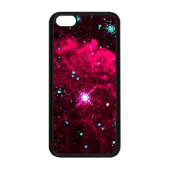 Pistol Star And Nebula Apple Iphone 5c Seamless Case (black)