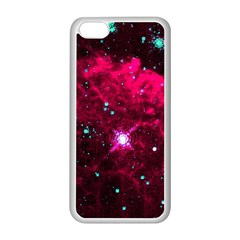 Pistol Star And Nebula Apple Iphone 5c Seamless Case (white)