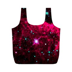 Pistol Star And Nebula Full Print Recycle Bags (m)