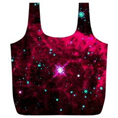 Pistol Star And Nebula Full Print Recycle Bags (l)