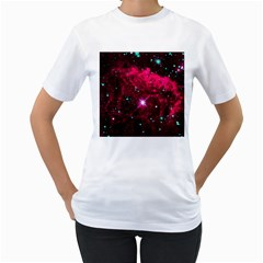 Pistol Star And Nebula Women s T Shirt (white)