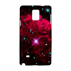 Pistol Star And Nebula Samsung Galaxy Note 4 Hardshell Case
