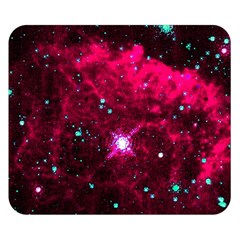 Pistol Star And Nebula Double Sided Flano Blanket (small)