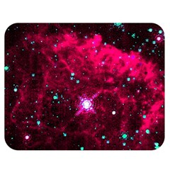 Pistol Star And Nebula Double Sided Flano Blanket (medium)