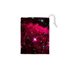 Pistol Star And Nebula Drawstring Pouches (XS)