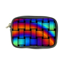 Rainbow Weaving Pattern Coin Purse