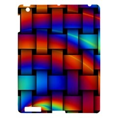 Rainbow Weaving Pattern Apple Ipad 3/4 Hardshell Case