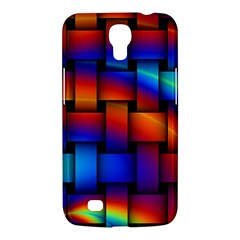 Rainbow Weaving Pattern Samsung Galaxy Mega 6 3  I9200 Hardshell Case