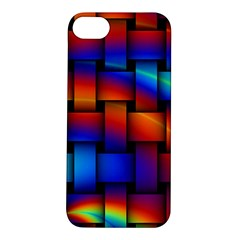Rainbow Weaving Pattern Apple Iphone 5s/ Se Hardshell Case