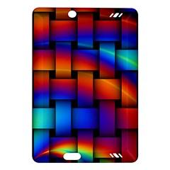 Rainbow Weaving Pattern Amazon Kindle Fire Hd (2013) Hardshell Case