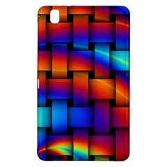 Rainbow Weaving Pattern Samsung Galaxy Tab Pro 8 4 Hardshell Case