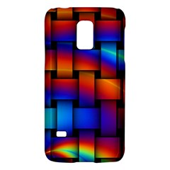 Rainbow Weaving Pattern Galaxy S5 Mini