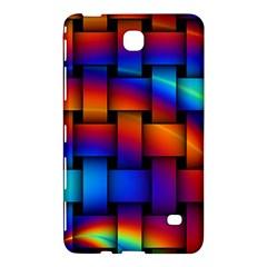 Rainbow Weaving Pattern Samsung Galaxy Tab 4 (8 ) Hardshell Case