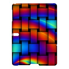 Rainbow Weaving Pattern Samsung Galaxy Tab S (10 5 ) Hardshell Case