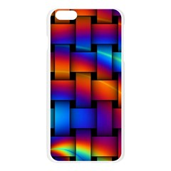 Rainbow Weaving Pattern Apple Seamless iPhone 6 Plus/6S Plus Case (Transparent)