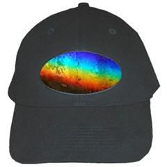 Rainbow Color Prism Colors Black Cap