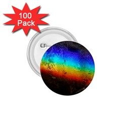 Rainbow Color Prism Colors 1.75  Buttons (100 pack)