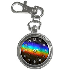 Rainbow Color Prism Colors Key Chain Watches