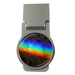 Rainbow Color Prism Colors Money Clips (round)