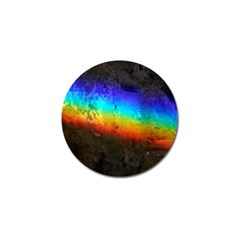 Rainbow Color Prism Colors Golf Ball Marker (4 pack)