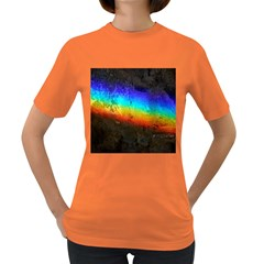 Rainbow Color Prism Colors Women s Dark T-Shirt