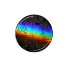 Rainbow Color Prism Colors Hat Clip Ball Marker (4 Pack)