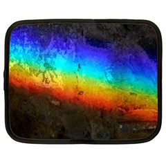 Rainbow Color Prism Colors Netbook Case (Large)